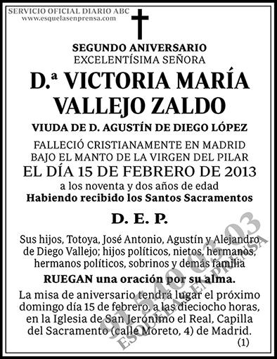 Victoria María Vallejo Zaldo